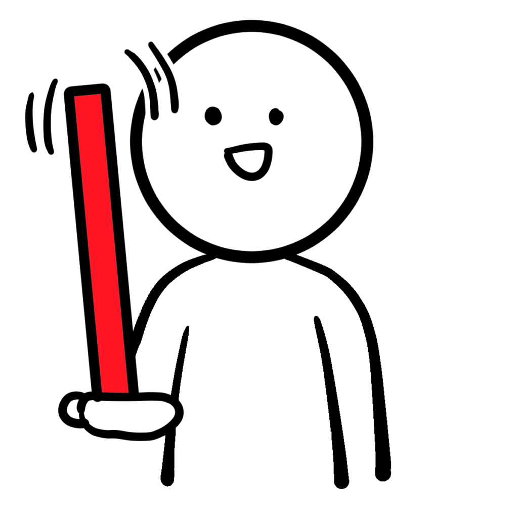 棒体操ぐらぐら(Stick gymnastics)